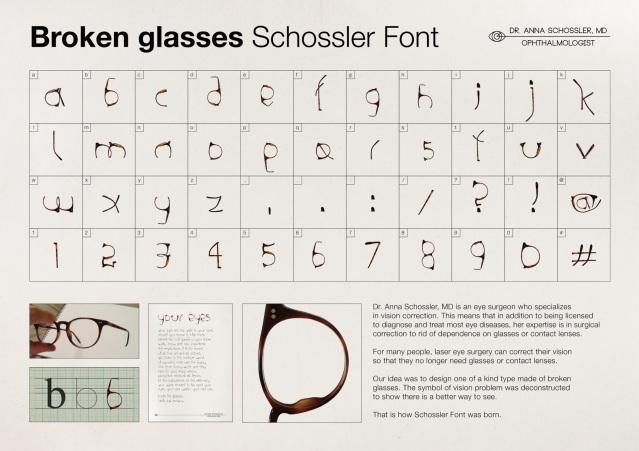 Dr-Anna-Schossler-Broken-glasses-Schossler-font